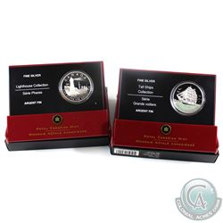 2005 Canada $20 3-Masted Ship & Toronto Island Fine Silver Coins (Tax Exempt) Toronto Island has a s