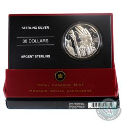 2005 Canada $30 Totem Pole Sterling Silver Coin.