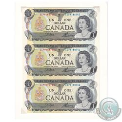 Estate Lot of 1973 Bank of Canada $1 Notes in UNC Condition. In this collection you will receive the