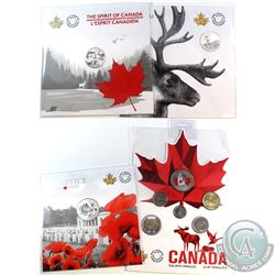 4x 2017 & 2018 Canada Commemorative Fine Silver Coins and Gift Set. (TAX Exempt) You will receive 20