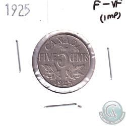 1925 Canada 5-cent F-VF (Impaired)