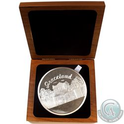 Elvis- Legendary Coins- Welcome to My World 10oz Fine Silver Coin in Collector Case.  (Tax Exempt) I