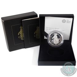 2018 United Kingdom 2-Pound The Queens Beasts- Black Bull of Clarence 1oz Fine Silver Proof (Tax Exe