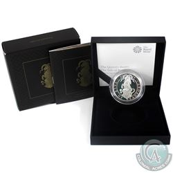 2019 United Kingdom 2-Pound The Queens Beasts- Yale of Beaufort 1oz Fine Silver Proof (Tax Exempt)