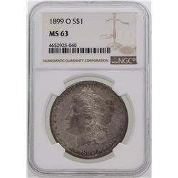 1889-O $1 Morgan Silver Dollar Coin NGC MS63
