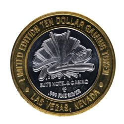 .999 Silver Rio Suite Hotel Las Vegas $10 Casino Limited Edition Gaming Token