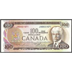 1975 $100 Bank of Canada Note