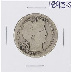 1895-S Barber Half Dollar Coin