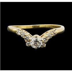 14KT Yellow Gold 0.55 ctw Diamond Ring