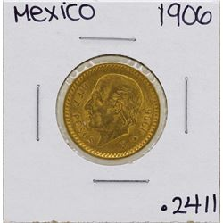 1906 Mexico 10 Pesos Gold Coin