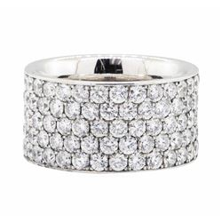 14KT White Gold 5.25 ctw Diamond Eternity Ring