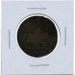 1638 Netherlands Spanish Victories at Calloo Jeton Coin