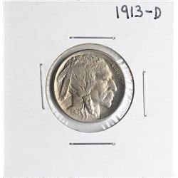 1913-D Buffalo Nickel Coin