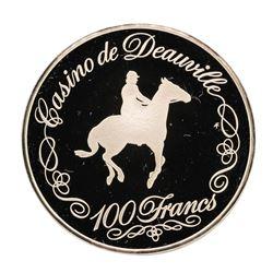 Casino de Deauville 19.8 gram .925 Sterling Silver Gaming Token