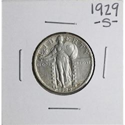 1929-S Standing Liberty Quarter Coin