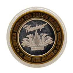 .999 Silver Flamingo Laughlin, Nevada $10 Casino Limited Edition Gaming Token