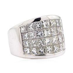 14KT White Gold 4.00 ctw Diamond Wedding Band
