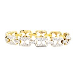 18KT Yellow Gold 2.00 ctw Diamond Bracelet