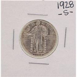 1928-S Standing Liberty Quarter Coin
