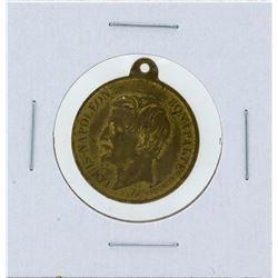 1848 France Bronze Medal Napoleon III Election