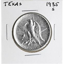 1935-S Texas Centennial Commemorative Half Dollar Coin