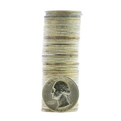Roll of (40) 1953-S Brilliant Uncirculated Washington Quarter Coins
