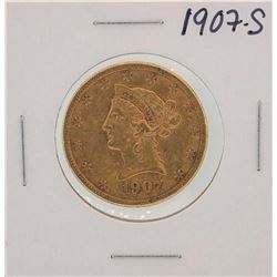 1907-S $10 Liberty Head Half Eagle Gold Coin