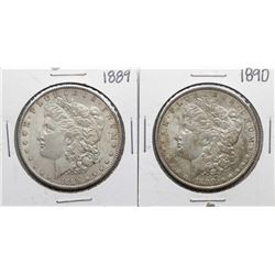Lot of 1889-1890 $1 Morgan Silver Dollar Coins