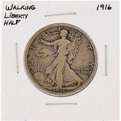 1916 Walking Liberty Half Dollar Silver Coin