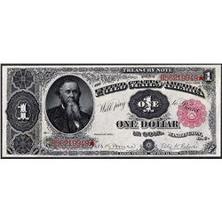 1891 $1 Treasury Note