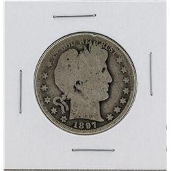1897-O Barber Quarter Silver Coin