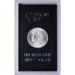 1885-CC $1 Morgan Silver Dollar Uncirculated Coin GSA