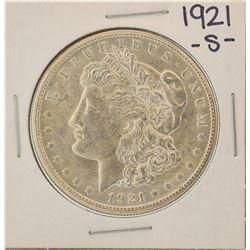 1921-S $1 Morgan Silver Dollar Coin