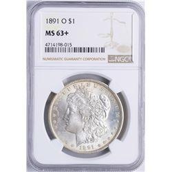 1891-O $1 Morgan Silver Dollar Coin NGC MS63+
