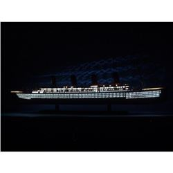 "SS United States Limited Model Cruise Ship 40"" w/ LED Lights"