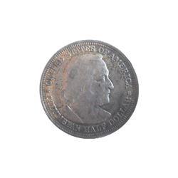 1893 Columbian Exposition Silver Half Dollar - Chicago Fair Commemorative Coin