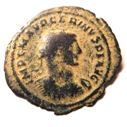 Bronze coin of Carinus: 283 - 285 A.D.