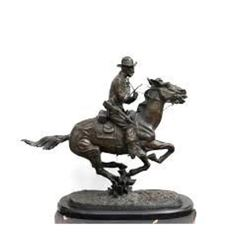 Trooper of the Plains By Frederic Remington