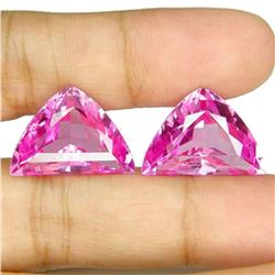 28.45 Ct Matching Fancy Cut Pink Topaz