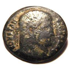 Bronze coin of Constans (337 - 350 A.D.)