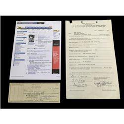 Rory Calhoun Western Signatures Set