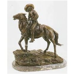 Scout By Frederic Remington