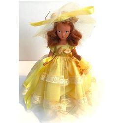 Vintage Mid Century Nancy Ann Storybook Bisque Doll