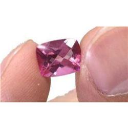 3.79ct Natural Pink Topaz Aaa Elongated Cushion 10x8mm Loose Gemstones