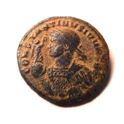 Bronze Coin of Constantine II (337-340 A.D.) - Rare
