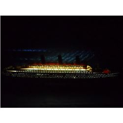 """RMS Queen Mary Limited 40"""" w/ LED Lights Model Cruise Ship"""