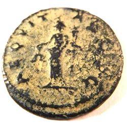 Bronze coin of Claidius II (253-268 A.D.)