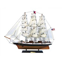 "Wooden Flying Cloud Tall Model Clipper Ship 30"""
