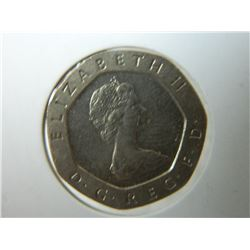 COIN - 20 PENCE - 1982