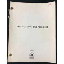 The Man with One Red Shoe (1985) - William Theiss Original Production Used Script With Annotations